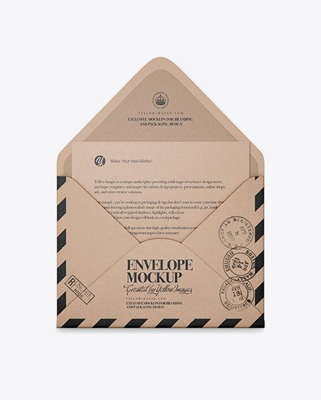 Download Opened Kraft Envelope With List Mockup In Stationery Mockups On Yellow Images Object Mockups Mockup Free Psd Free Psd Mockups Templates Stationery Mockup Yellowimages Mockups