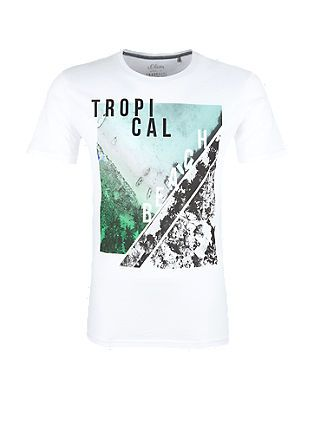 T Shirt With A Collage Print From S Oliver S Oliver Print Collage T Shirt