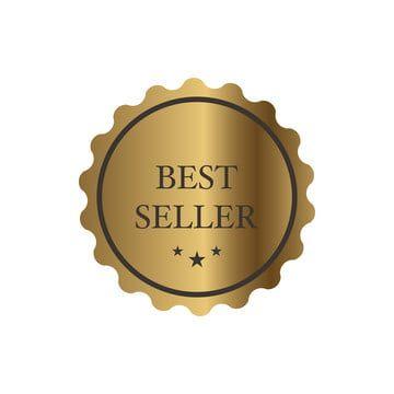 Gold Label Best Seller Medal Clipart Gold Best Seller Png And Vector With Transparent Background For Free Download Desain Produk Desain Produk
