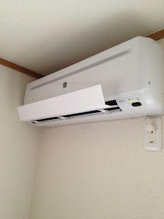 エアコン風除けルーバーを100均の材料で自作してみた 画像あり