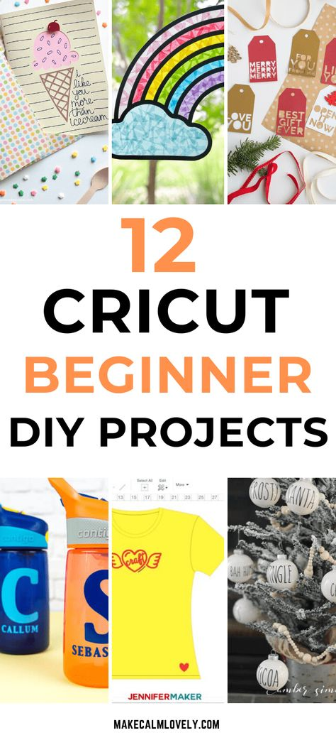Cricut Easy DIY Projects for the Complete Beginner - Make Calm Lovely