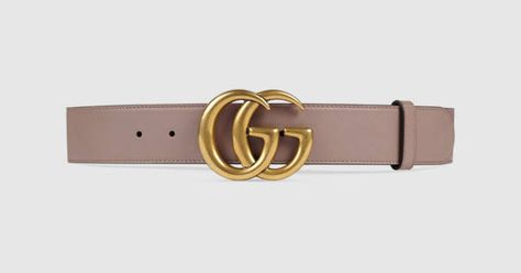 cb4c170b0 Leather belt with Double G buckle - Gucci Women's Casual 400593AP00T5729
