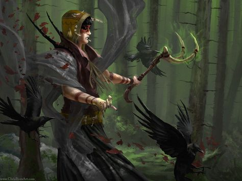 Woods Witch by ChrisBjors on deviantART | Create your own