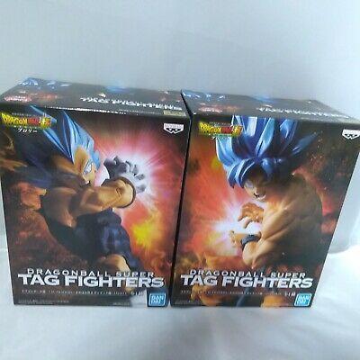 Dragon Ball Super TAG FIGHTERS Kamehameha /& Garlic Gun VEGETA /& Goku Figure set