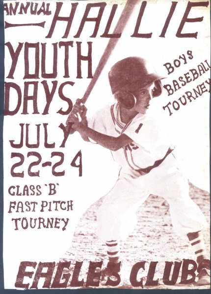 Hallie Youth Days 5 Day Tournament July 25 To July 29 Youth Day Chippewa Falls Wisconsin Chippewa Falls