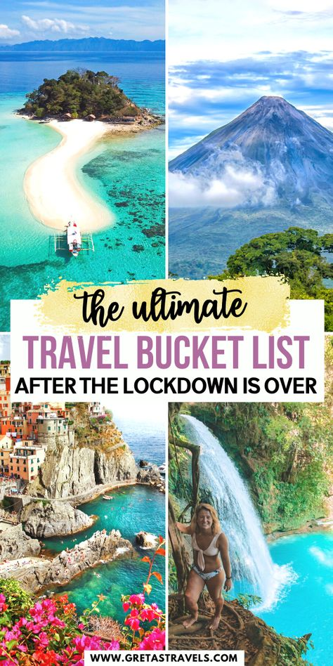 The Ultimate Travel Bucket List After the COVID Lockdowns are Over - Travel Dreams 2020 Beautiful Places To Travel, Best Places To Travel, Top Travel Destinations, Vacation Travel, Vacation Trips, Family Travel, Vacations, Douro, Road Trip With Kids