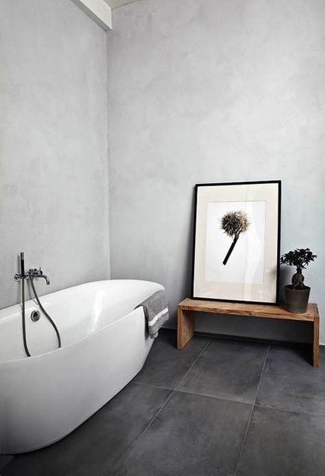 70 Ideen für Wandgestaltung - Beispiele, wie Sie den Raum aufwerten - wandgestaltung im badezimmer
