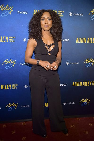 Angela Bassett attends the Alvin Ailey American Dance Theater's 60th Anniversary Opening Night Gala Benefit at New York City Center.
