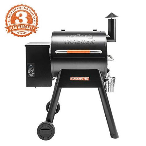 Traeger Grills Tailgater 20 Portable Wood Pellet Grill and
