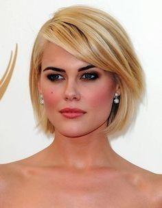 Schöne Beste Kurze Frisuren Für Dickes Haar Und Rundes