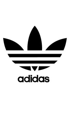 This Is The Logo For Adidas Shoes And Clothes It Uses A Simple High Contrast Element And Breaks Up That Look Adidas Originals Logo Adidas Logo Fashion Logo