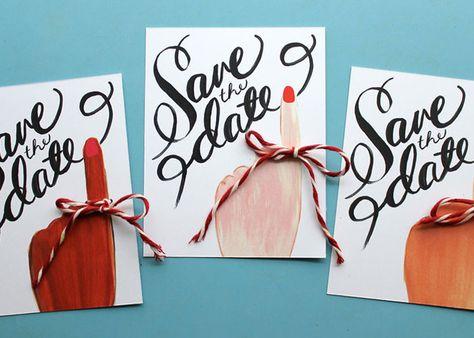 幸せの報告♡招待状の前に送る「セーブ・ザ・デート」のアイディアまとめ♡のトップ画像