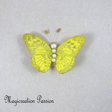 50 idees de magnets papillons soie