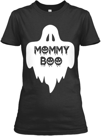 Halloween T Shirt Ideas Diy.Mommy Boo Halloween Shirts For Mom Black Women S T Shirt