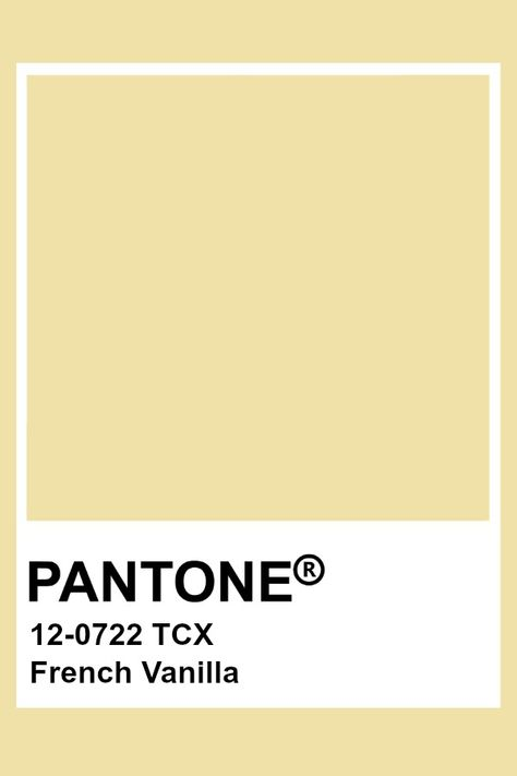 Pantone French Vanilla