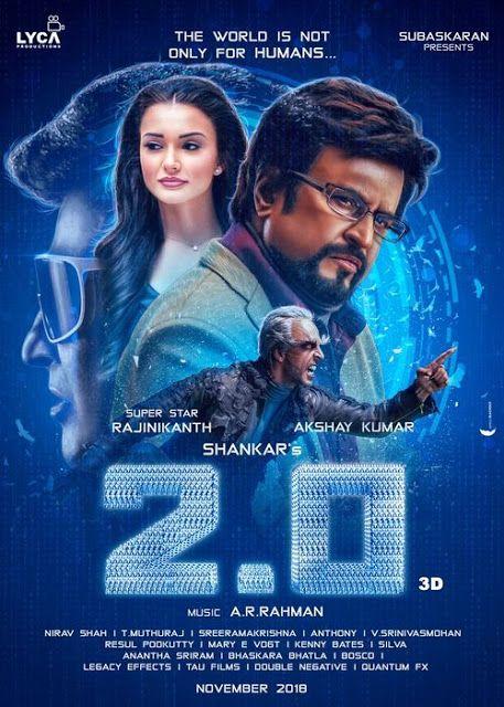 20XMovies - Extra Movies Link: Robot 2 0 2019 Hindi 720p