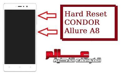 طريقة فرمتة ﻮ اعادة ضبط المصنع كوندور Condor Allure A8 Tech Company Logos Company Logo Hard