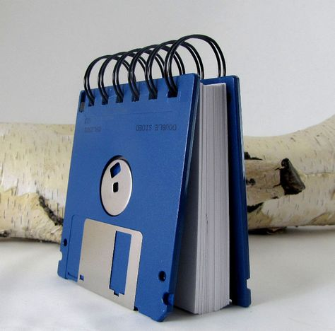 A Floppy Disc Notebook