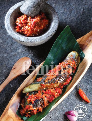 Sambal Terung Bakar Masakan Simpel Resep Vegetarian Masakan Indonesia
