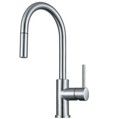 Franke Pull Down Single Handle Kitchen Faucet With Side Spray Stainless Kitchen Faucet Stainless Steel Faucets Kitchen Faucet
