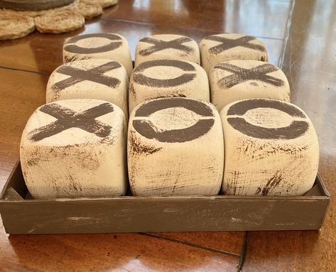 Dollar Tree Crafts Tic Tac Toe Farmhouse Decor Games Rustic – The Thrifty Jewell board games Diy Craft Projects, Diy Crafts To Sell, Craft Ideas, Decor Ideas, Diy Ideas, Dollar Tree Decor, Dollar Tree Crafts, Dollar Tree Centerpieces, Dollar Tree Fall