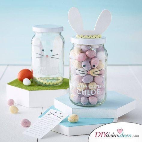 Photo of So einfach könnt ihr mit diesen DIY Bastelideen zu Ostern Gläser dekorieren