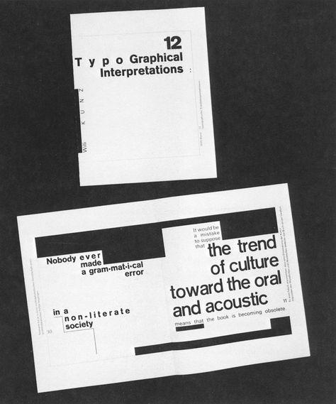 12 Typographical Interpretations - AIGA Design Archives