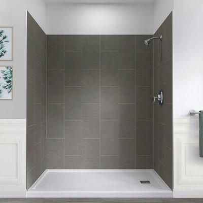 Roma Mosaic Freedom Alcove Shower Kit With Images Alcove