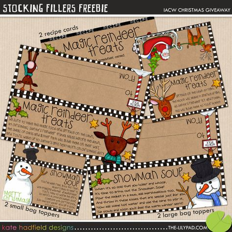 These are GREAT! Free downloads of the toppers for Snowman Soup, Reindeer Treats, etc.