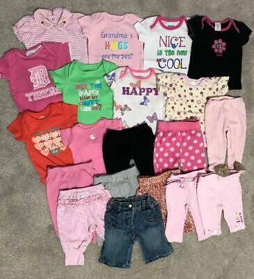 Ebay Sponsored Baby Girl 0 3 Months Assorted Bundle Clothes Lot Baby Girl Clothes Baby Girl Newborn Baby Toddler Clothing