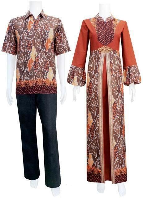 Model Baju Gamis Pesta Kombinasi Batik Gamis Batik Di 2019