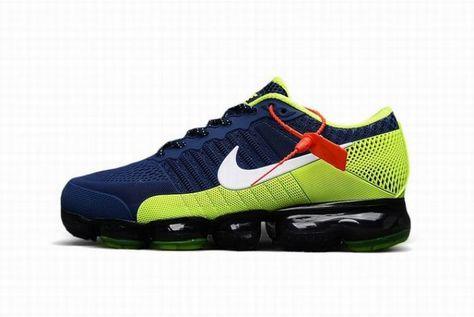 zapatillas nike hombre azul y verde
