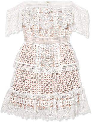 White Off The Shoulder Crochet Mini Dress Mini Dress Lace Mini Dress Chiffon Mini Dress
