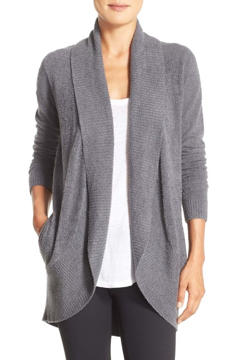 CozyChic Lite® Circle Cardigan,—would love graphite or indigo