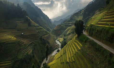 Road to Heaven,Mu cang chai,Vietnam  by Jakkree