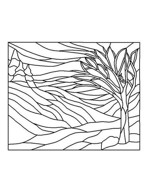 Image Result For Landscape Quilt Patterns Free Printable Stained Glass Patterns Stained Glass Designs Stained Glass