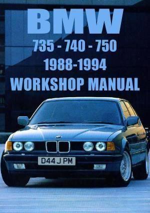 Bmw E32 735 740 750 1988 1994 Workshop Manual Bmwclassiccars Bmw Bmw Classic Cars Bmw Classic