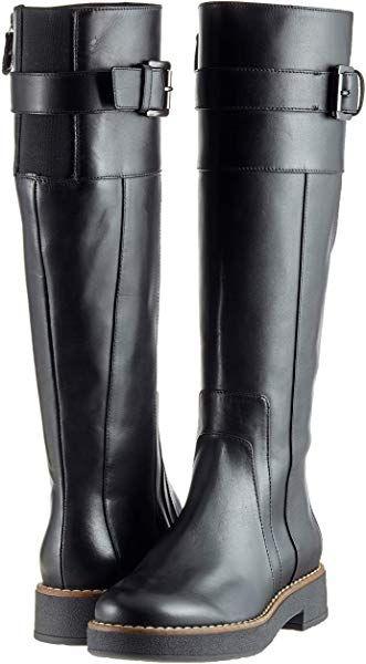 Engañoso Juicio En cantidad  Geox Women's D Adrya A High Boots, (Black C9999), 7 UK: Amazon.co.uk: Shoes  & Bags | Boots, High boots, Shoe bag