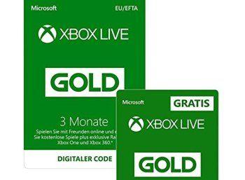 Amazon 6 Monate Xbox Live Gold Fur 19 99 Euro Https Www Discountfan De Artikel Technik Und Haushalt Amazon 6 Monate Xbox Live Gold Fuer 1999 Eu Mit Bildern Euro 6 Monate