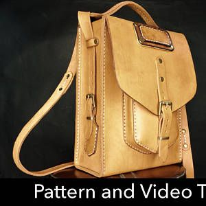 Bag Pattern Leather Diy Pdf Download Messenger Bag Video