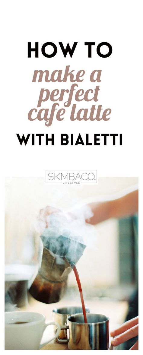 Tips how to make a perfect cafe latte with Bialetti. Bialetti moka is really one of the best coffee makers for espresso at home - and it's cheap too!