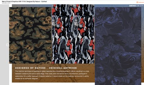 EARTHED : Print and Pattern : Designed by Nature
