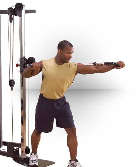 Cable Column Attachment Cable Workout No Equipment Workout Workout Session