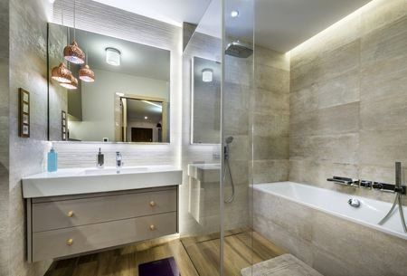 Bathroom Modern Lighting Beautiful Electrical Wiring Needed For A Bathroom