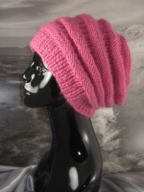 PRINTED KNITTING INSTRUCTIONS-BABY CHUNKY BEEHIVE HAT KNITTING PATTERN