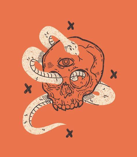 How to Make a Vintage Skull Illustration in Adobe Illustrator