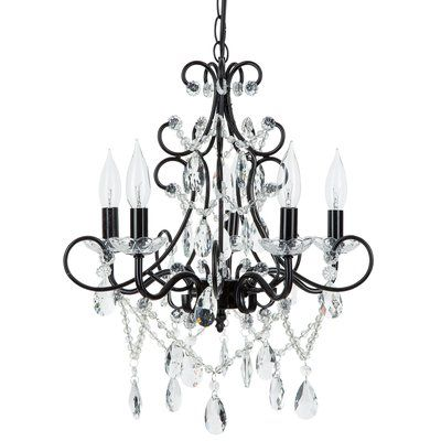 Astoria Grand Blanchette 5 Light Candle Style Classic