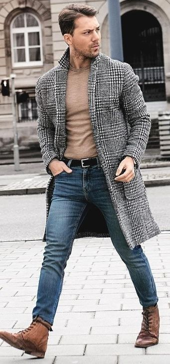 Elegant Men Outfit Ideas For Winter36 | Stylish mens fashion