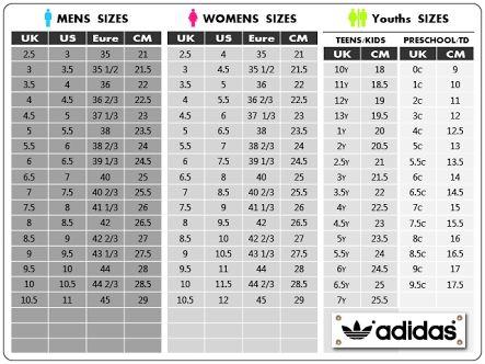 8a59102a79e adidas superstar size chart