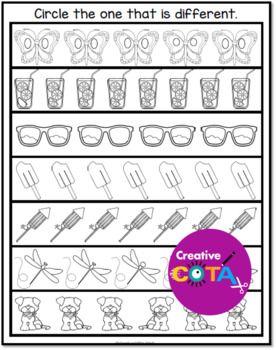 Visual Perceptual Skills Worksheets Printables
